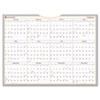 AT-A-GLANCE WallMates Self-Adhesive Dry Erase Yearly Planning Surface, White, 24 x 18, 2014