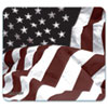 Allsop NatureSmart Mouse Pad, American Flag Design, 8 3/5