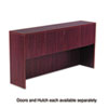 Valencia Series Hutch Doors, Laminate, 17w x 3/4d x 15h, Mahogany, 4/Set