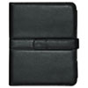 Buxton Faux Leather Easel iPad Case, 10.063 x 1.125 x 8.125, Black