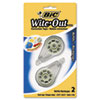 BIC Wite-Out EZ Refill Correction Tape Refills, 3/16