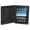 Buxton Nylon iPad Folio, 10.063 x 1.125 x 8.125, Black