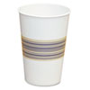 Paper Hot Cups, 12 oz., Blue/Tan, 20 Bags of 50, 1000/Carton
