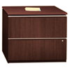 "35-3/4""W 2-Drawer Lateral File Milano 2 Harvest Cherry"