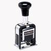 2000 PLUS Automatic Numbering Machine, 6 wheels, Self-Inking, Black 3/4 x 1/4