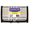 "Expanding File, Plaid, Coupon, 13 pockets, 1.5"" Exp., 1/EA"
