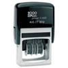 COSCO 2000 PLUS Economy Dater, Self-Inking, Black