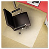 Polycarbonate Chair Mat, 46w x 60l, Clear