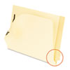 Pendaflex Laminated Tab End Tab Folder with 2 Fasteners, 11 pt Manila, Letter, 50/Box