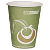 Eco-Products Evolution World 24% PCF Hot Drink Cups, Sea Green, 12 oz., 50/Pack