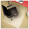 Polycarbonate Chair Mat, 36w x 48l, Clear