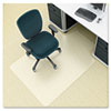 Environmat PET Studded Chair Mat, 36w x 48l, Clear