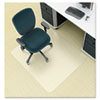 Environmat PET Studded Chair Mat, 46w x 60l, Clear