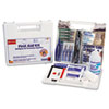 Bulk First Aid Kit for 25 People, 106-Pieces, OSHA Compliant, Plastic Case
