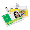 Fellowes Laminating Pouches, 5 mil, 2 5/8 x 3 7/8, ID Size, 25/Pack