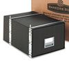 StaxOnSteel Storage Box Drawer, Legal, Steel Frame, Black, 6/Carton