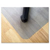 EcoTex Revolutionmat Recycled Chair Mat for Hard Floors, 36 x 48
