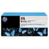 CR251A (HP 771) Ink Cartridge, 775 mL, Red, 3/Pk