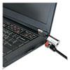 Kensington ClickSafe Keyed Laptop Lock, 5ft Cable, Black