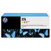 CE040A (HP 771) Ink Cartridge, 775 mL, Yellow