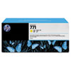 CR253A (HP 771) Ink Cartridge, 775 mL, Yellow, 3/Pk