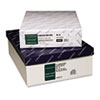 Crane's Crest 100% Cotton Envelope, 9 1/2 x 4 1/8, White 500/Box