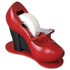 Scotch Shoe Tape Dispenser, Red High Heel, 1