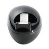 "Karim Tape Dispenser with Magic Tape, 1"" Core, Black"
