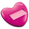 Heart Notes Dispenser for 3 x 3 Pop-up Notes, Pink
