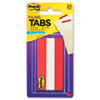 Durable Tabs, Red, 3 x 1 1/2, 20/PK