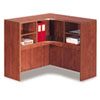 Valencia Series Corner Open Storage Hutch, 42w x 42d x 36h, Medium Cherry
