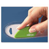Quality Park Slice Safety Cutter, Ceramic Blade, Green