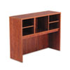 Valencia Series Open Storage Hutch, 47w x 15d x 35-1/2h, Medium Cherry
