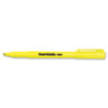 Paper Mate Intro Highlighters, Chisel Tip, Fluorescent Yellow, 12/Pk