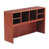 Valencia Series Open Storage Hutch, 58-7/8w x 15d x 35-1/2h, Medium Cherry