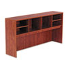 Valencia Series Open Storage Hutch, 70-5/8w x 15d x 35-1/2h, Medium Cherry