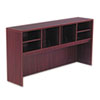 Valencia Series Open Storage Hutch, 70-5/8w x 15d x 35-1/2h, Mahogany
