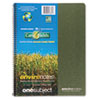 Environotes Sugarcane Notebook, 8 1/2 x 11, 1 Subj, 80 Sheets, College, Assorted