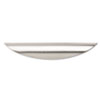 Valencia Series Optional Drawer Pulls, 6-1/2w x 3/4d x 1h, Silver Metal, Set/2