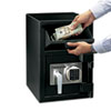 Sentry Safe Depository Safe, 0.94 ft3, 14w x 15 3/5d x 20h, Black