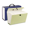 Portable Case File, 19 Pockets, Legal, Assorted colors
