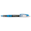 Sharpie Accent Liquid Pen Style Highlighter, Chisel Tip, Fluorescent Blue, Dozen