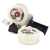 Universal Carton Sealing Tape w/Pistol Grip Dispenser, 2