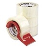Universal One Carton Sealing Tape w/Dispenser, 2