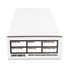 Economy Storage Box, Check/Deposit, Paper, 9 x 24 x 4, White, 12/Carton
