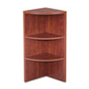Valencia Series Upper End Cap Bookcase, 2 Shelf, 15 x 15 x 35-1/2, Medium Cherry