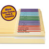 Viewables Color Labeling System, Top Tab Folder, 3 1/2 x 1 1/4, White, 160/Kit