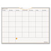 "WallMates Self-Adhesive Dry Erase Monthly Planning Surface, White, 24"" x 18"