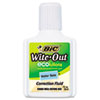 BIC Wite-Out Water-Based Correction Fluid, 20 ml Bottle, White