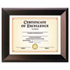 Park Avenue Coffee Bean Wood Frame, Coffee Brown, 8 1/2 x 11